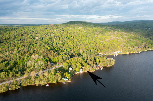 Adirondack Lakefront Home